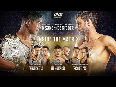 ONE Championship: INSIDE THE MATRIX | Full Event