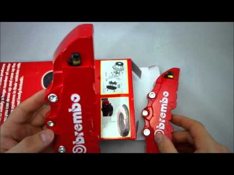 Cubre Pinzas Brembo Color Rojo