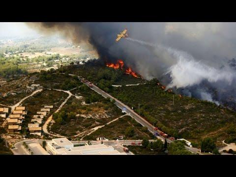 Курортное побережье Испании – во власти пожаров (новости)