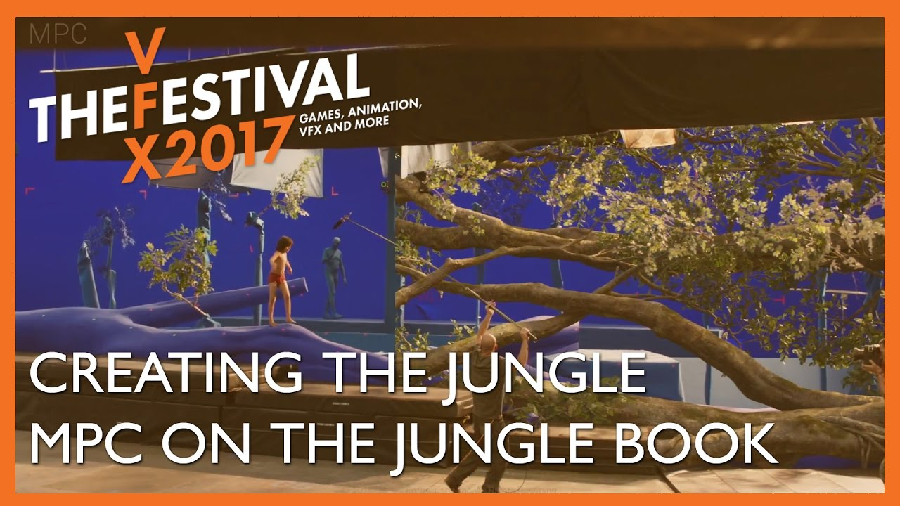 Creating the Jungle. MPC Film talk about The Jungle Book.