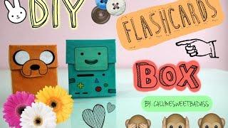 DIY Flashcards Box 📦