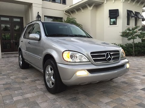 2002 Mercedes-Benz ML500 AWD SUV for sale by Auto Europa Naples
