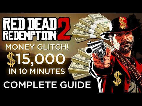 Red Dead Redemption 2 | Unlimited Money/Gold Bars Glitch - Earn