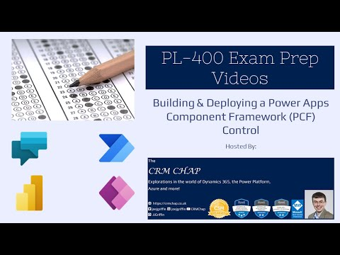 Exam PL-400 Revision Notes: Creating a Power Apps Component Framework (PCF) Control