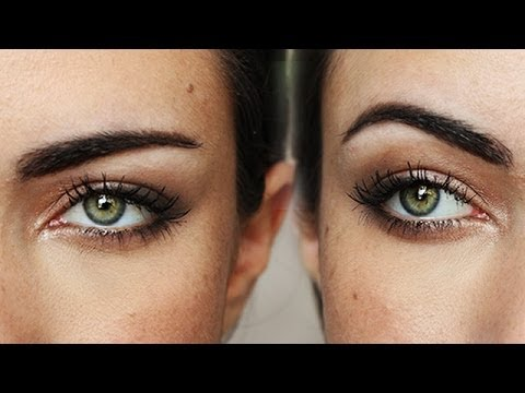 How To: Change The Shape Of Your Eyebrows  | MakeupAndArtFreak