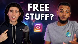 How To Become A Micro Influencer AND GET FREE STUFF FROM INSTAGRAM IN 2021