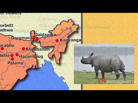 National parks, wildlife sanctuaries & Biosphere reserves of india