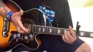 Ryan Adams(Taylor Swift)-Bad Blood-Acoustic Guitar Lesson.