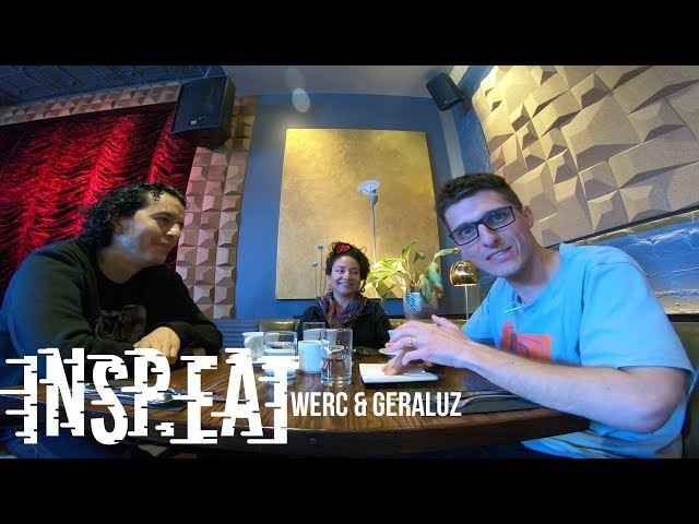 INSP.EAT w/ Werc & Geraluz: Street art is like acupuncture. You heal the space.