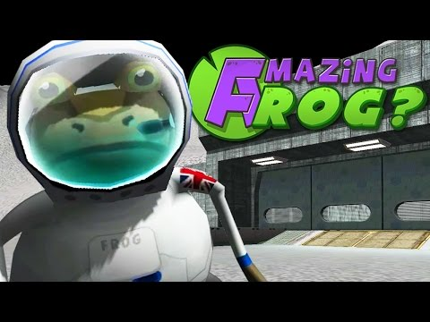 FROG ON THE MOON! - Amazing Frog Christmas Update Beta - Part 80 | Pungence