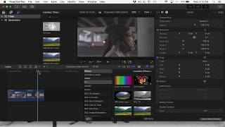 Color Grading A6500 S-LOG2 Footage In FCPX