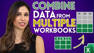 Easiest way to COMBINE Multiple Excel Files into ONE (Append data from Folder)