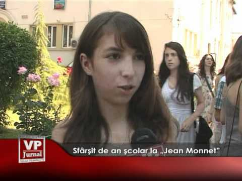 """Sfârşit de an şcolar la """"Jean Monnet"""""""