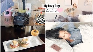 My Lazy Day Routine - Fall Morning Routine Brunch Recipe Eggs Benedict - MissLizHeart