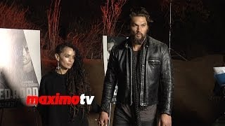 "Jason Momoa/Джейсон Момоа, Jason Momoa and Lisa Bonet ""The Red Road"" Premiere Screening ARRIVALS"