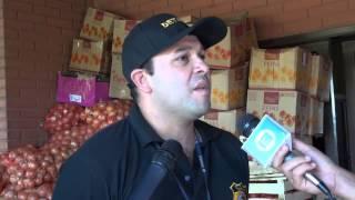 preview picture of video 'Incautan 2 500 kilos de azúcar, 300 litros de aceite, productos hortícolas y artículos de limpieza'