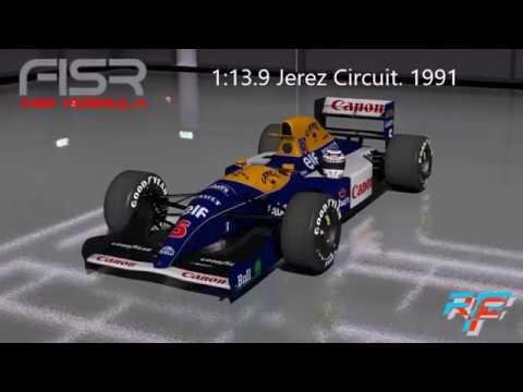 Venturi Larrousse LC92 смотреть онлайн видео в отличном