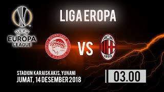 Jadwal Pertandingan dan Cara Nonton Streaming Olympiacos Vs Ac Milan di HP via MAXStream beIN Sports