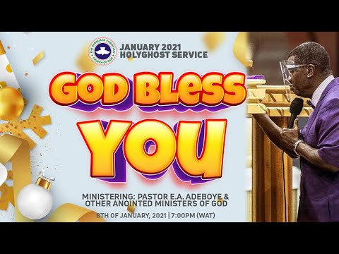 RCCG January 2021 Holy Ghost Service with Pastor E.A Adeboye