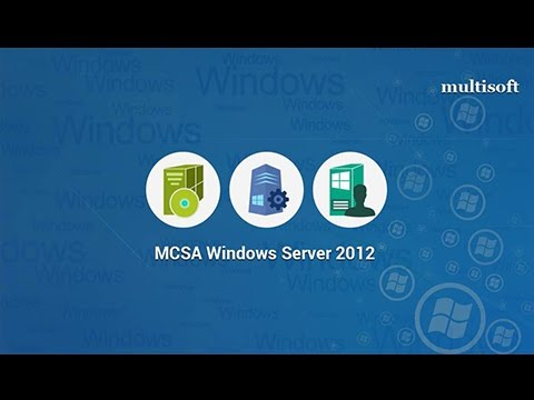 MCSA Windows Server 2012 Online Cirtification Training | Multisoft ...