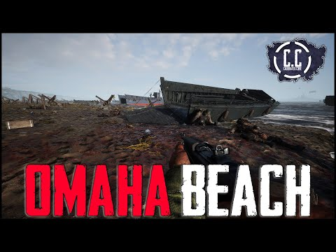 Assaulting OMAHA BEACH During the First Day of Release In Hell Let Loose!