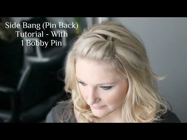 How To Pin Back Bangs Sewing Tips How To Pin Fabric Video Music Mp3