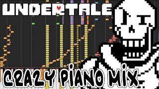 Crazy Piano Mix! PAPYRUS THEME (BONETROUSLE) [Undertale]