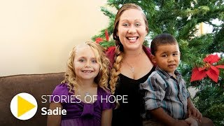 Sadie's Story of Hope: Homeless and Scared to Gratitude