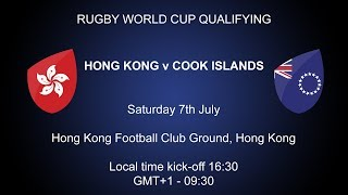 Rugby World Cup 2019 Qualifying Play-Off – Hong Kong v Cook Islands