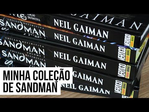 MINHA COLEÇÃO DE HQS DE SANDMAN | Pipoca Musical