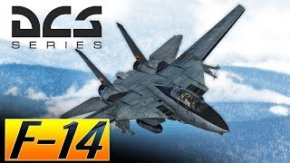 DCS: F 14 Tomcat Vs Mig 29 Trying Out The Aim 54C Phoenix