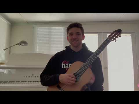 "A short ""lessonette"" regarding right hand technique on the classical guitar"