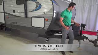 Coachmen Catalina Insider: Leveling the Unit