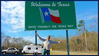 I'm in Texas Y'all! Driving the Entire Lone Star State