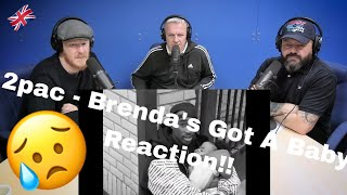 2Pac - Brenda's Got A Baby (Official Music Video) REACTION!! | OFFICE BLOKES REACT!!