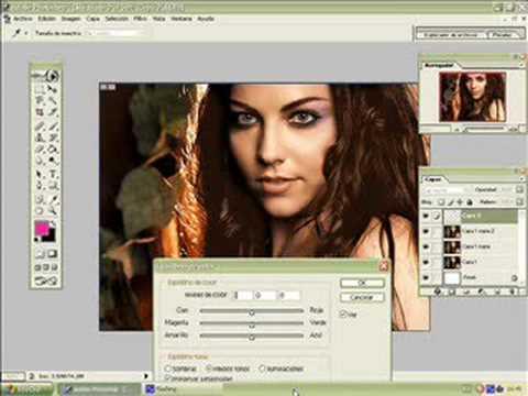 Photoshop Makeover - Goth to Pop