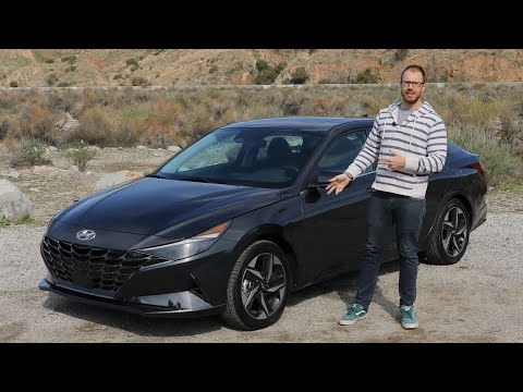 2021 Hyundai Elantra Test Drive Video Review