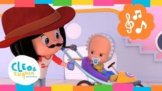 EL COCHERITO LERE. Cleo & Cuquin | Familia Telerín. Canciones infantiles para niños