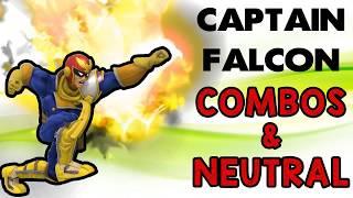 Captain Falcon Combos & Neutral! ft. Fatality