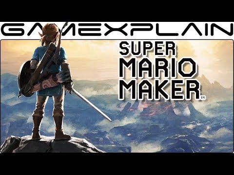 Zelda: Breath of the Wild in Super Mario Maker