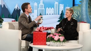 Neil Patrick Harris' Magic Trick Blows Ellen's Mind