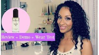 Smashbox Photo Finish Primer Oil | Review Demo Wear Test | COMBO OILY SKIN
