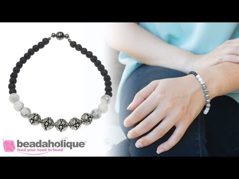 How to Make Your Own Aromatherapy Bracelet with Lava Beads