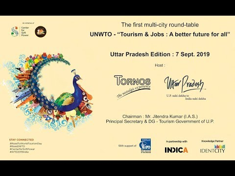 Uttar Pradesh edition of the first multi-city round-table discussion on Employment through Tourism