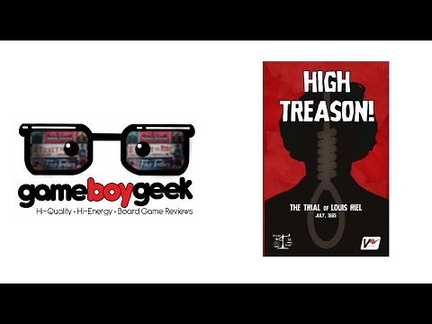 The Game Boy Geek Reviews High Treason