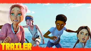 Trailers In Spanish Jurassic World: Campamento Cretácico T3 (2021) Netflix Serie Tráiler Oficial Español anuncio