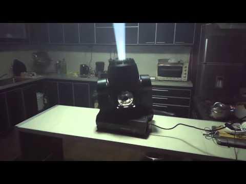Problema con cabezal movil HMI 575 - Se apaga la lampara