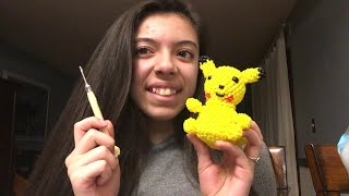Looming With Emiline Episode 35||  Begining of Pikachu
