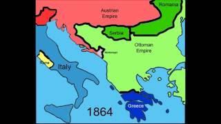 Border Changes/Geopolitics of Balkan Peninsula 1800-2006