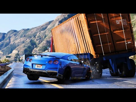 GTA 5 Luxury Car Crashes Compilation 2018!